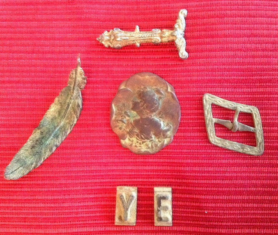 100 FINDS IN 100 DAYS: #60 Civil War Era Brooch