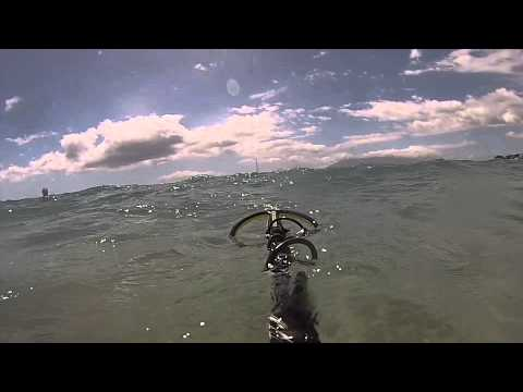 Dave's Metal Detecting – Chris lost ring Makena Beach 2012
