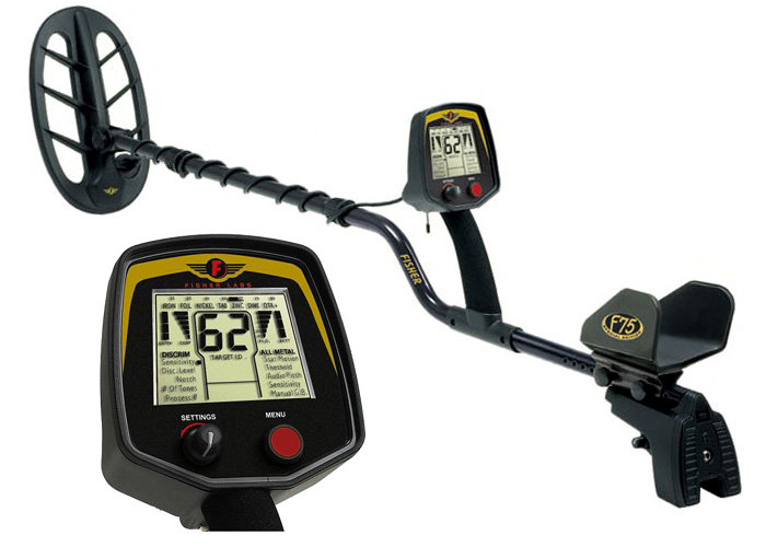 Click to View the Fisher F75 Metal Detector on Amazon.com