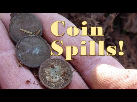 Metal detecting once more at the Seated Liberty site!
