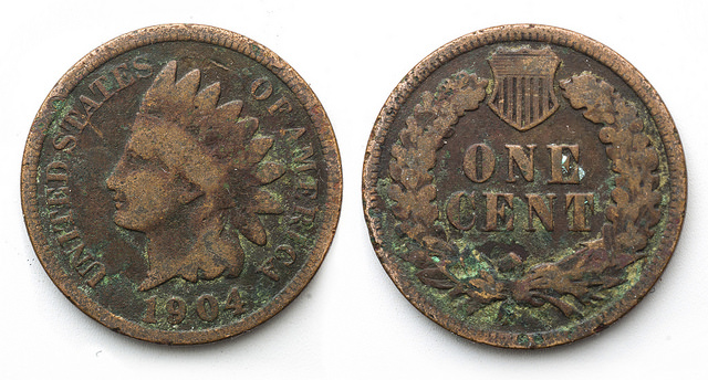 How to Clean Indian Head Cents
