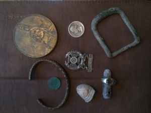 Some of the finds from that day.