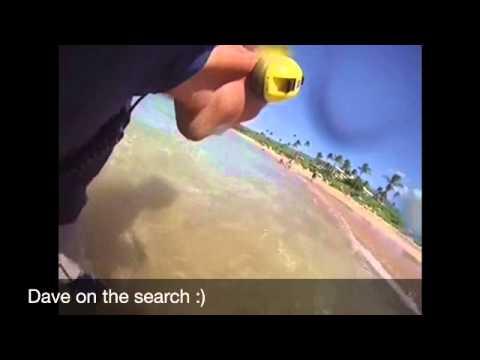 Underwater metal detecting/ Makena beach Maui