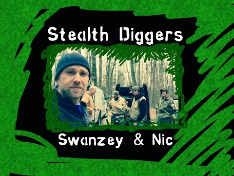 #82 Swanzey & Nic – NH Metal detecting silver coins relics with friends