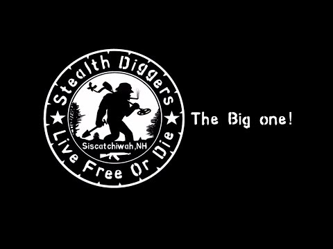 #89 The big one –  4 days of digging metal detecting fun relics coins NH colonial