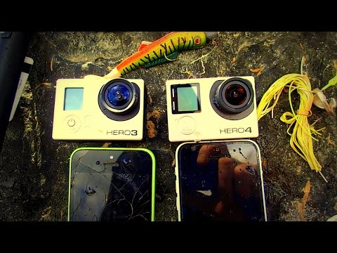River Treasure: 2 GoPro's, 2 iPhones, Fishing Tackle and MOAR!