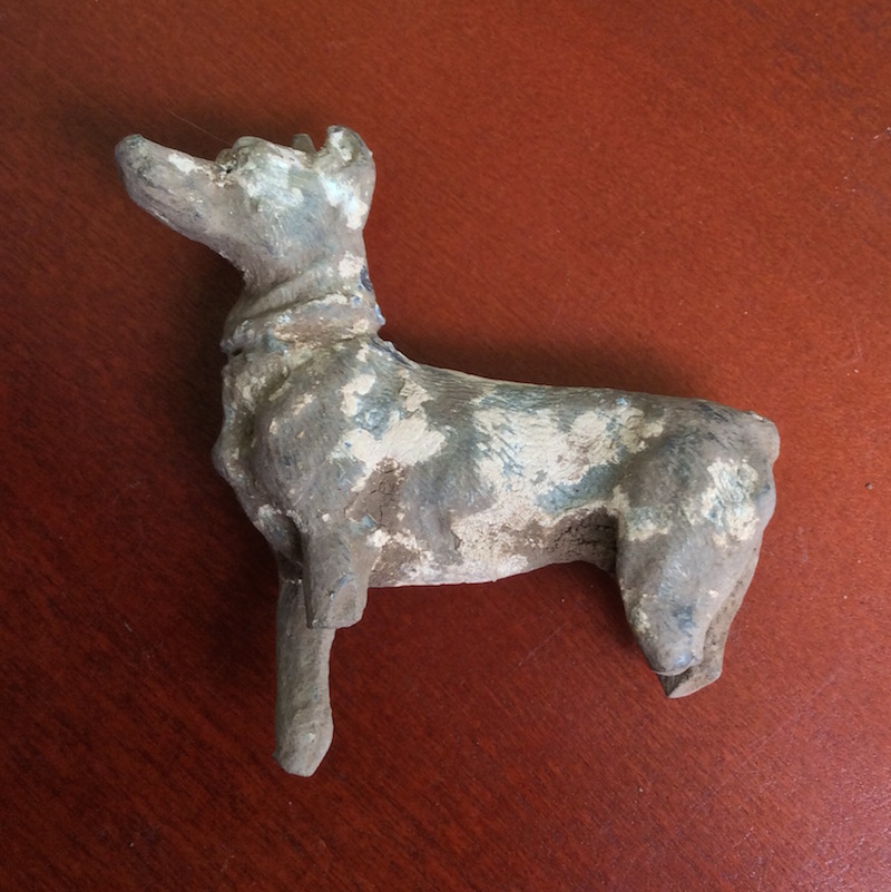 100 FINDS IN 100 DAYS: #95: Lead Dog Figurine