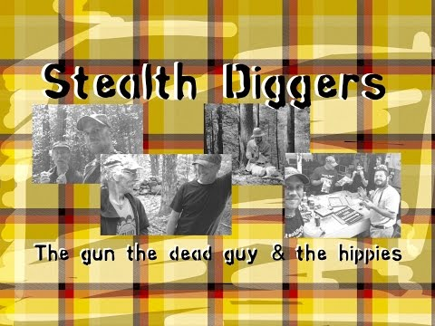 #99 The gun the dead guy & the hippies ~ metal detecting NH cellar holes relics