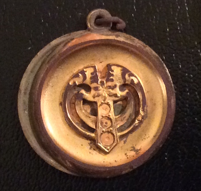 100 FINDS IN 100 DAYS: #84:  Gold-plated Locket