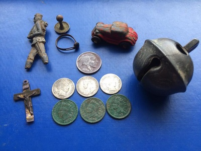 A good day with old silver and indians