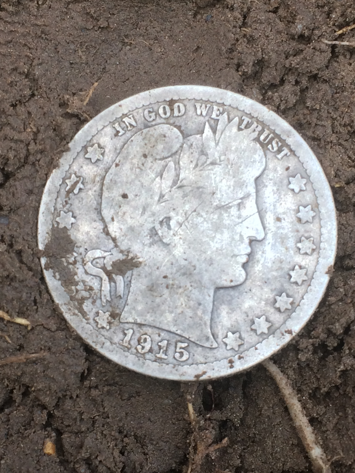 100 FINDS IN 100 DAYS: #53 1915 Barber Quarter