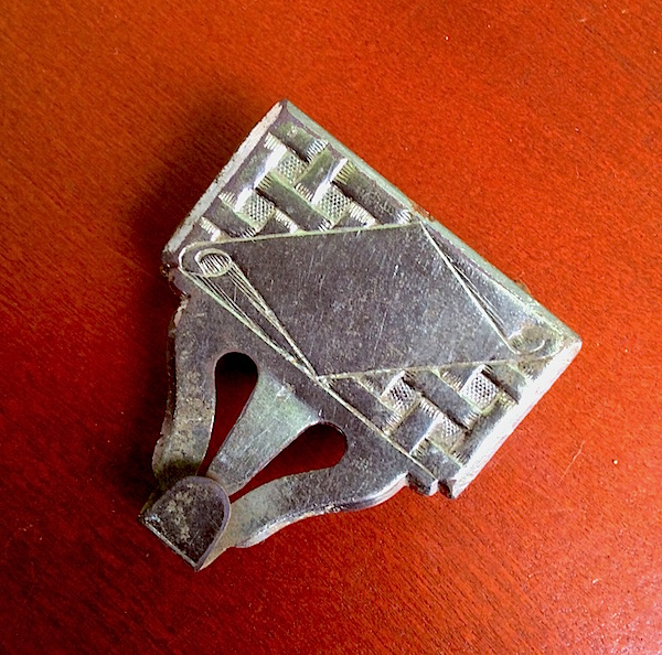 100 FINDS IN 100 DAYS: #78: Silver Plated Suspender Clip