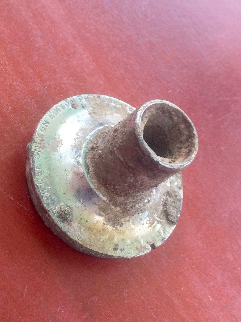 100 FINDS IN 100 DAYS: #67 Reproducer for 1880s Edison Phonograph