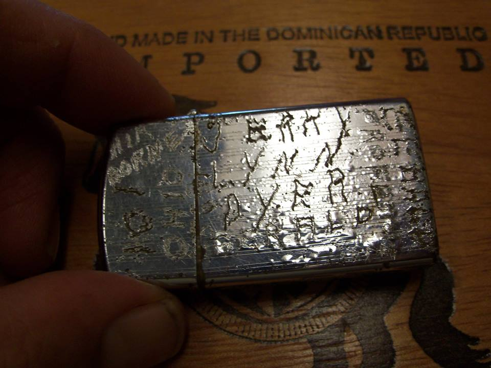 "Soldier's Lighter Recovered by Brian ""First Capital Digger"" Walsh"