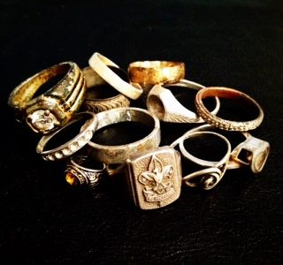 100 FINDS IN 100 DAYS: #47 Sterling Boy Scouts Ring