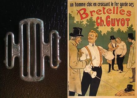 100 FINDS IN 100 DAYS: #49 French Suspender Clip