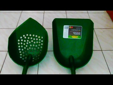 HOW TO MAKE THE ORIGINAL PLASTIC SHOVEL/ SIEVE (Subscribe to See More)