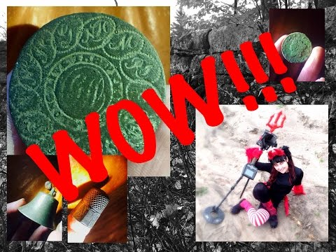 Metal detecting 1700s field: FIND OF A LIFETIME!!  And coins, relics, silver!!
