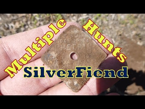 several short metal detecting hunts