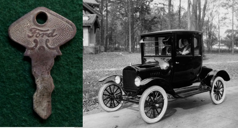 100 FINDS IN 100 DAYS: #45  Ford Model T Ignition Key