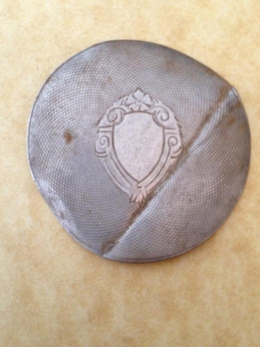 100 FINDS IN 100 DAYS: #37 Sterling German Pocket Watch Dust Cover