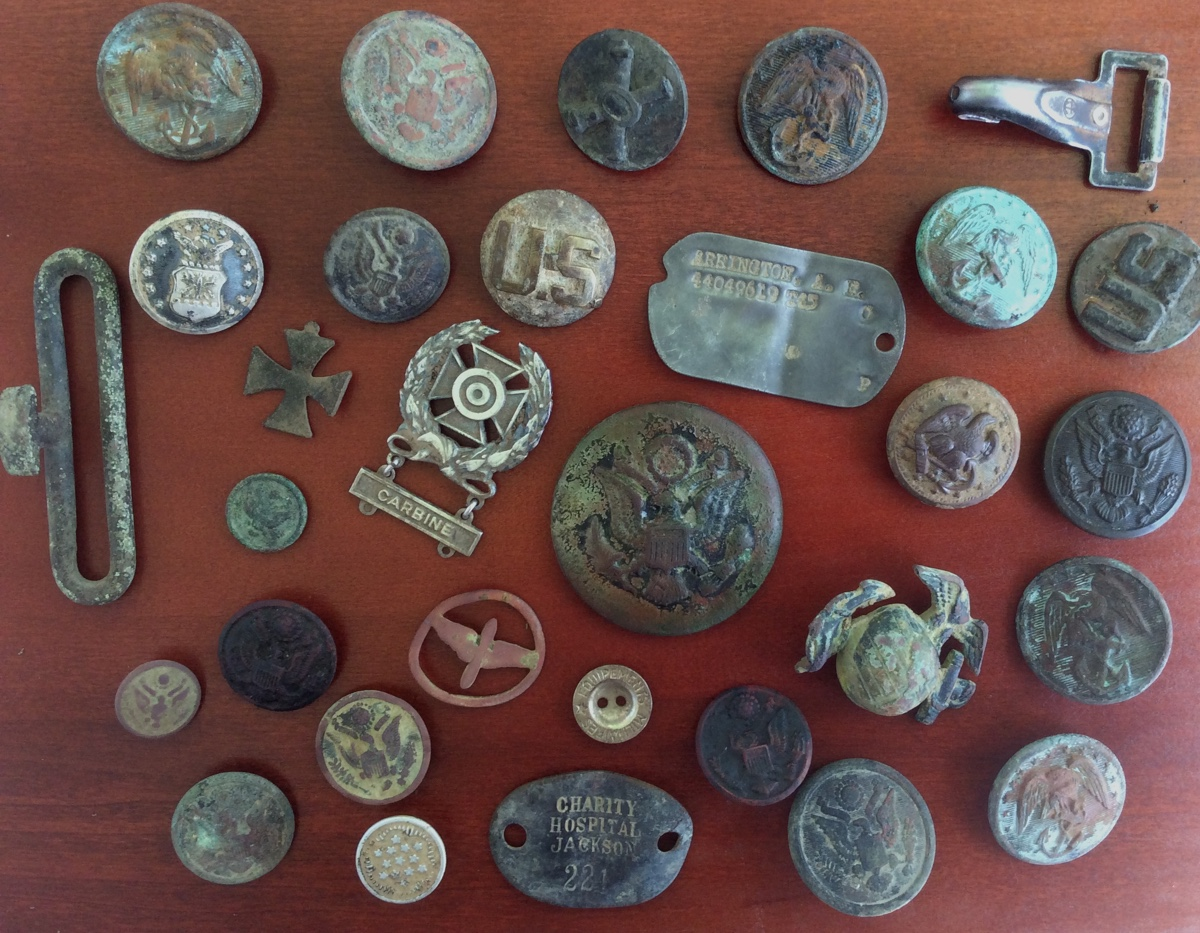 100 FINDS IN 100 DAYS: #13  World War Items and Silver Coins