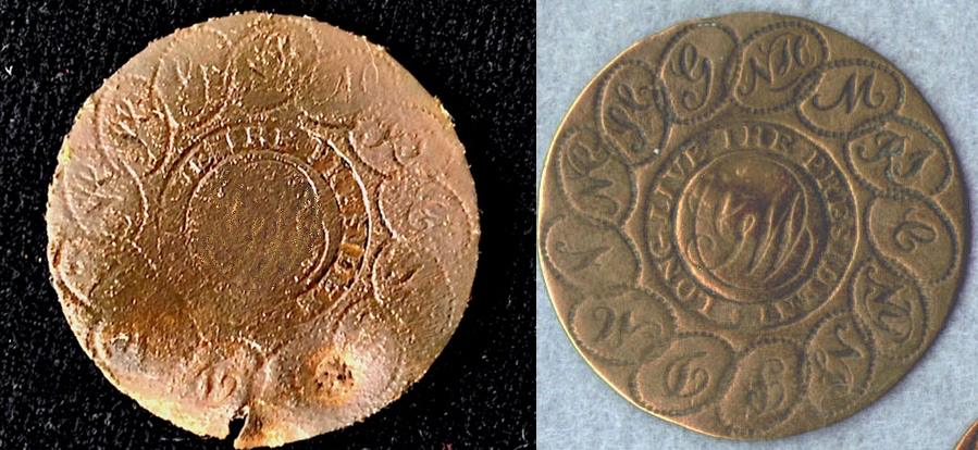 100 FINDS IN 100 DAYS: #1 1789 George Washington Inaugural Button
