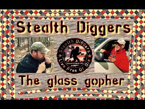 #117 The Glass Gopher – metal detecting NH cellar holes old roads foundations garrett atpro xp deus