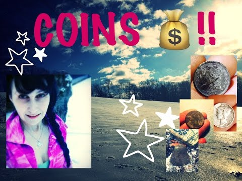 Crazy metal detecting through snow finds silver coins & relics from the 1700s!