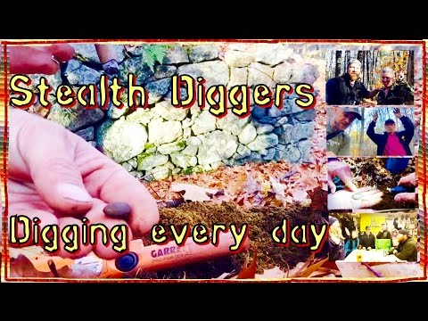 #123 Digging every day – metal detecting cellar holes