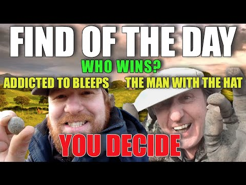 Find Of The Day competition with the Man with the Hat! Metal detecting UK # 92