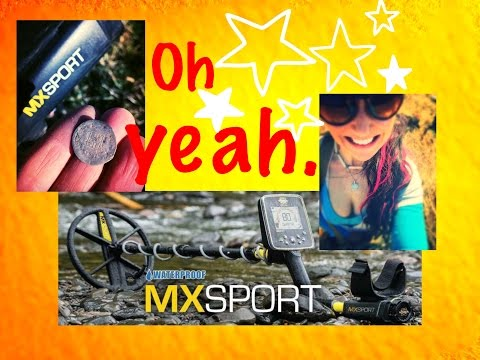 Metal detecting: The MX Sport is a COIN MAGNET at this colonial site!! Silver & relics!