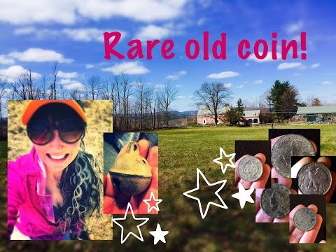 Metal detecting a colonial house: RARE 230 year old coin + big silver!!  MX Sport