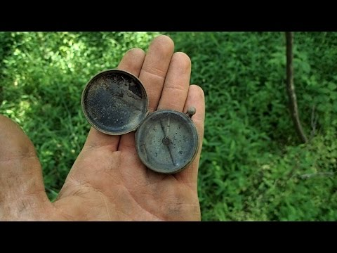 I found a compass in the woods and still got lost!