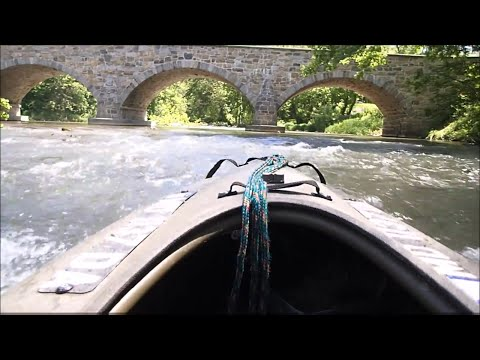 Boating To Burnside's Bridge: Antietam Battlefield, Sharpsburg Maryland