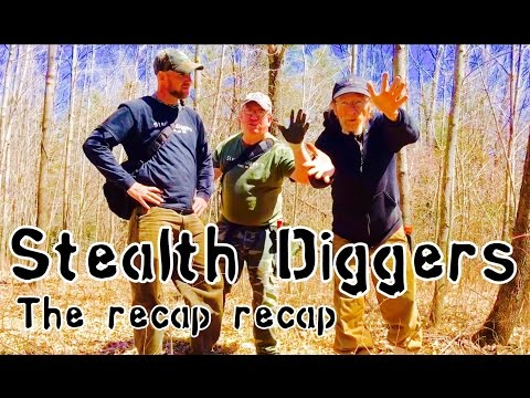 #141 The recap recap – metal detecting NH woods for coins & relics xp deus garret atgold pro