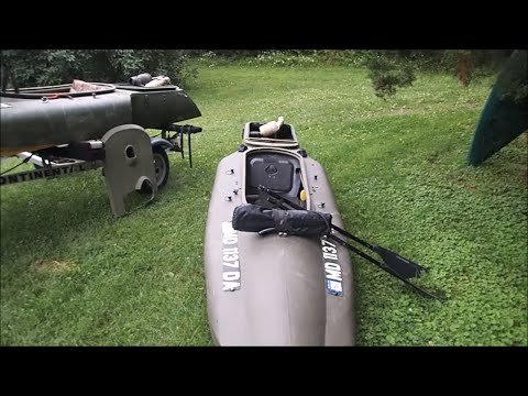 My Motorized Mokai Kayaks