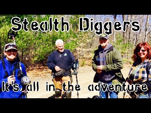 #140 Its all in the adventure – exploring NH cellar holes Metal detecting history