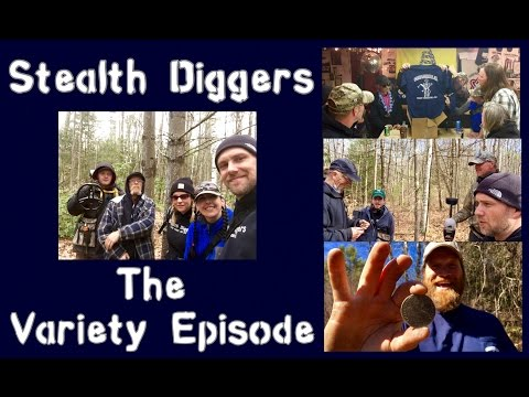 #138 The variety episode – Metal detecting NH New England cellar holes Lone digger & Pistol pete