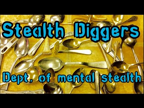 #145 Dept  of mental stealth – return to insane asylum fields metal detecting Garrett Xp Deus