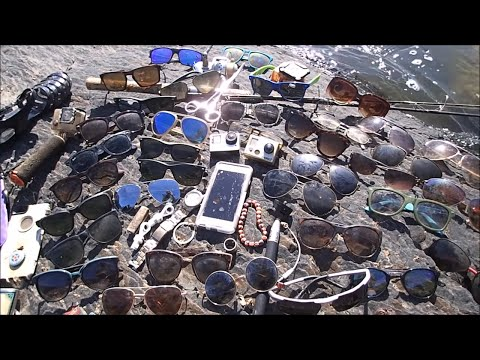 River Treasure: 2 GoPro's, iPhone, 7 Ray-Bans, Gucci and MOAR!