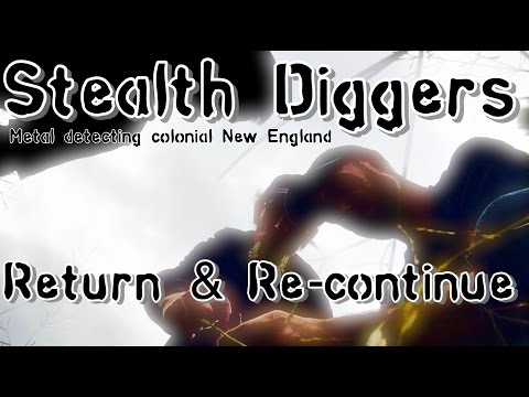 #149 Return & Re Continue – metal detecting Colonial sites coins relics ATGOLD XP Deus