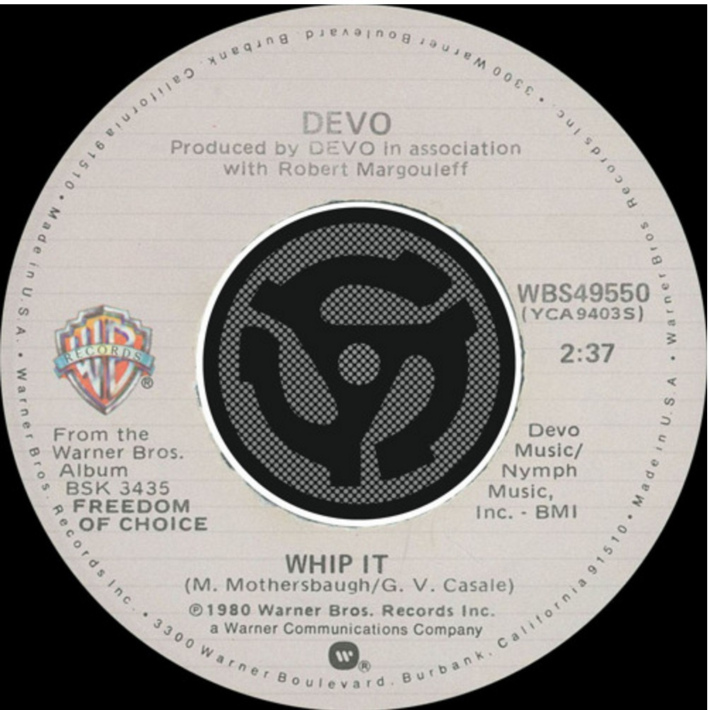 Detecting Music Monday: DEVO – Whip It