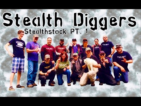 #150 Stealthstock Part 1 ~ metal detecting gathering in NH coins relics fun friends