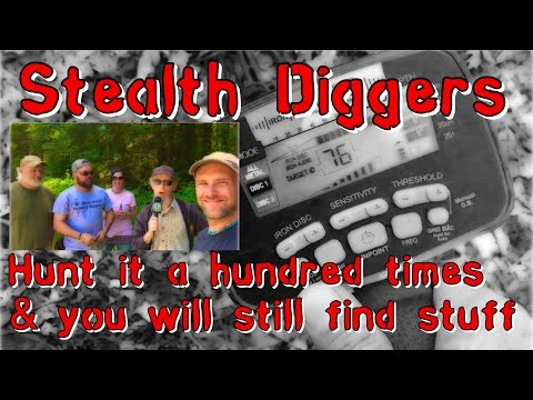 #158 Hunt it a hundred times and still find stuff – cleaning your metal detecting site