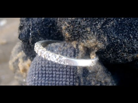 Is this a Diamond ring? Metal detecting UK # 103