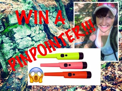 Metal detecting: Raking a cellar hole & new color TRX pinpointer giveaway!
