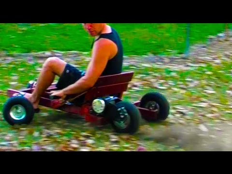 ELECTRIC OLD SCHOOL BILLY CART (1000 Watts and made from Timber)
