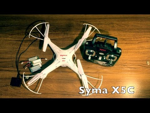 Syma X5C Review & Footage – Very cheap & Very cheerful – Tech Wednesday