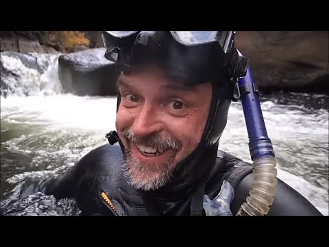A Crazy Mountain River Adventure